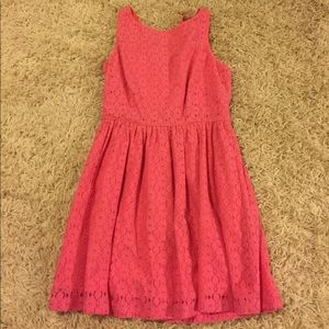 Lilly Pulitzer Pink Lace Dress